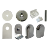 shower valencia hinge kit chrome 1152757c
